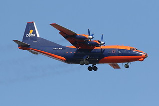 UR-CNN Cavok Air Antonov AN-12BK | by johnedmond