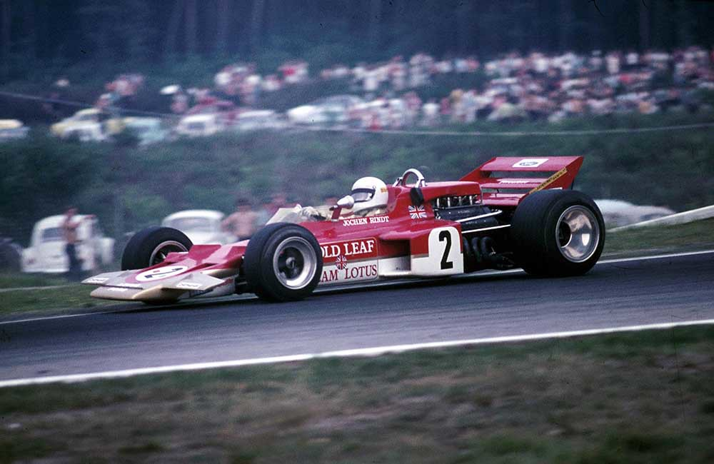 1970 lotus_72c_ German Grand Prix  Hockenheimring