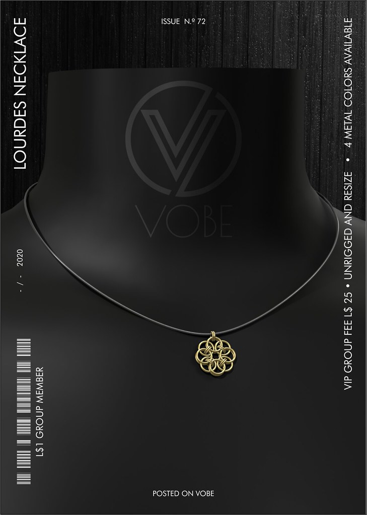 "VOBE NEW Group GIFT – ""Lourdes"" Necklace"