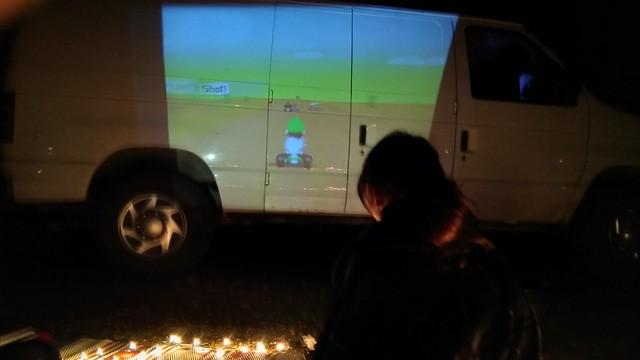 Games on the van!