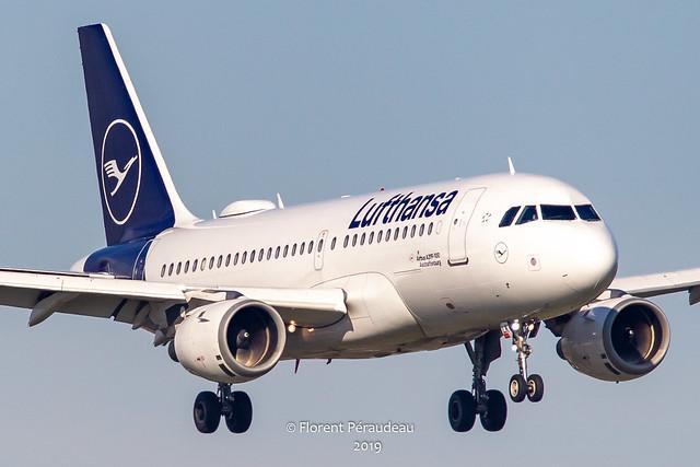 D-AILK Lufthansa Airbus A319-100 msn 679