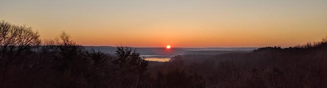 Sunrise at Lake Monroe