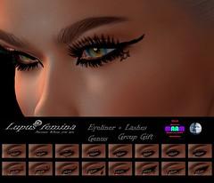 """""""Lupus Femina"""" Eyeliner+ Lashes GENUS + BOM - MAAM Group gift"""