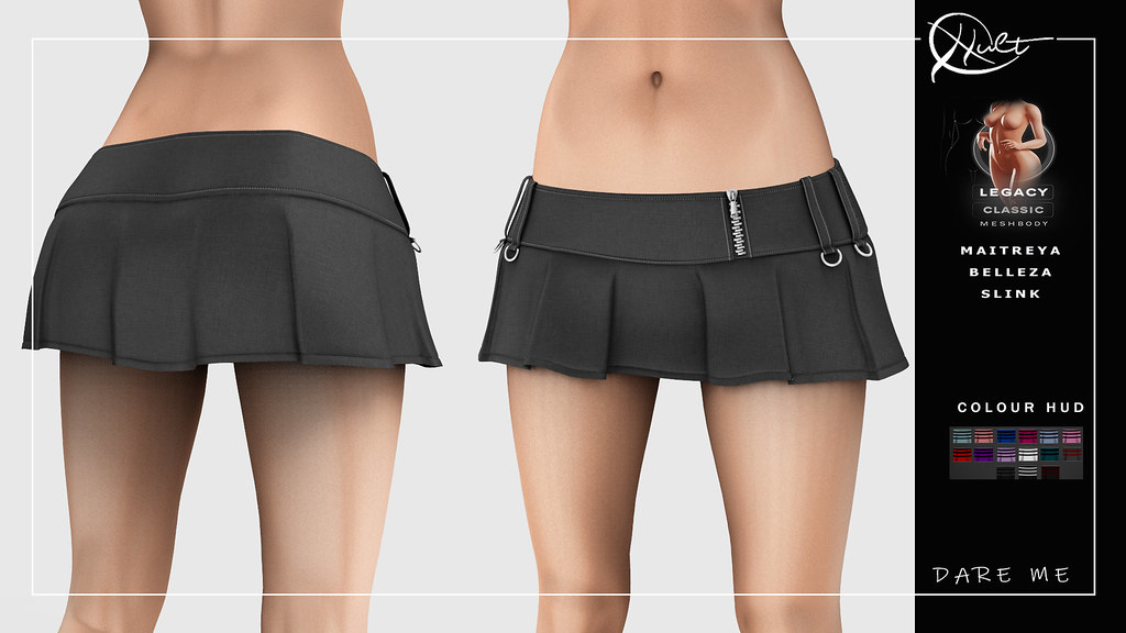 : CULT : Dare Me Skirt with HUD