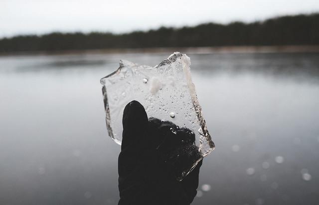 Fresh ice.