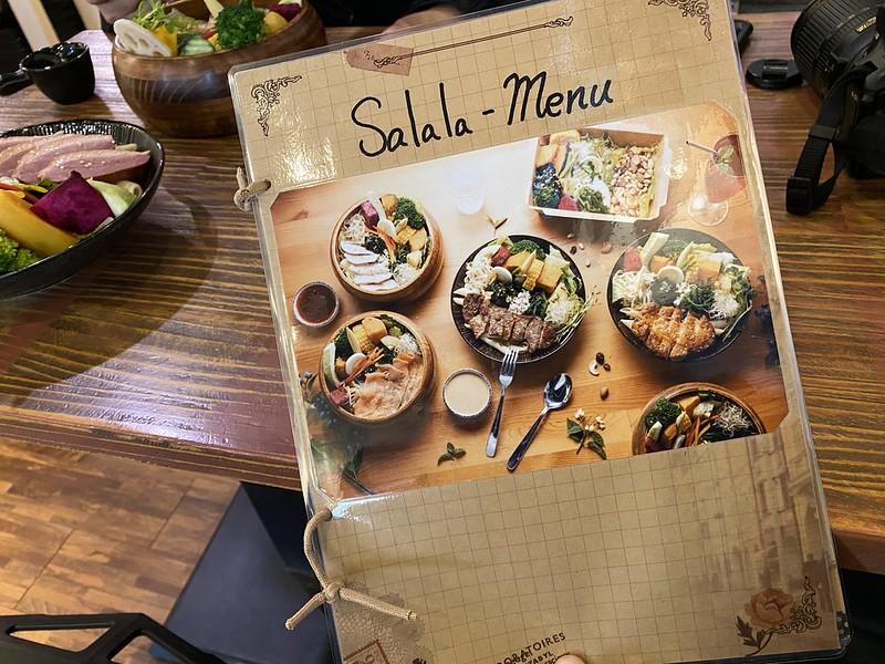 美食推薦!宜蘭輕食餐廳【莎菈菈】用智能活氧機清洗蔬果的沙拉定食(木盆沙拉)美味好吃又健康! @秤瓶樂遊遊