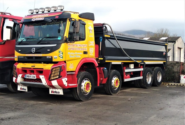 O.J Jones & Son Volvo FM X out from the workshops after an overhaul
