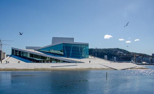 Operahuset in Oslo