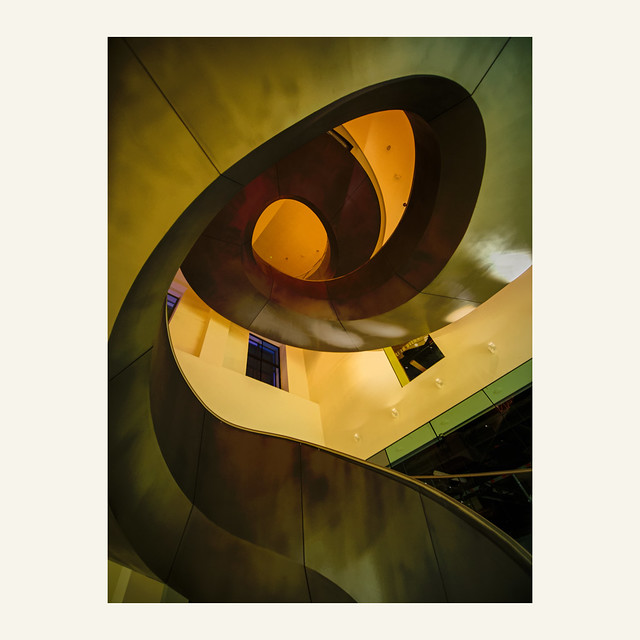 Staircase at the Wellcome Collection library and museum