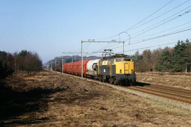 NS 1204 op de Ginkelse Heide op 10-4-1997 (SCAN)