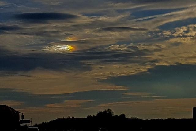 Left Side Parhelion (Sundog) 13:58:37 GMT 29/12/19