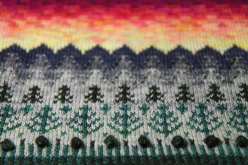 Detail of Tregrensa Cowl showing lower half of design