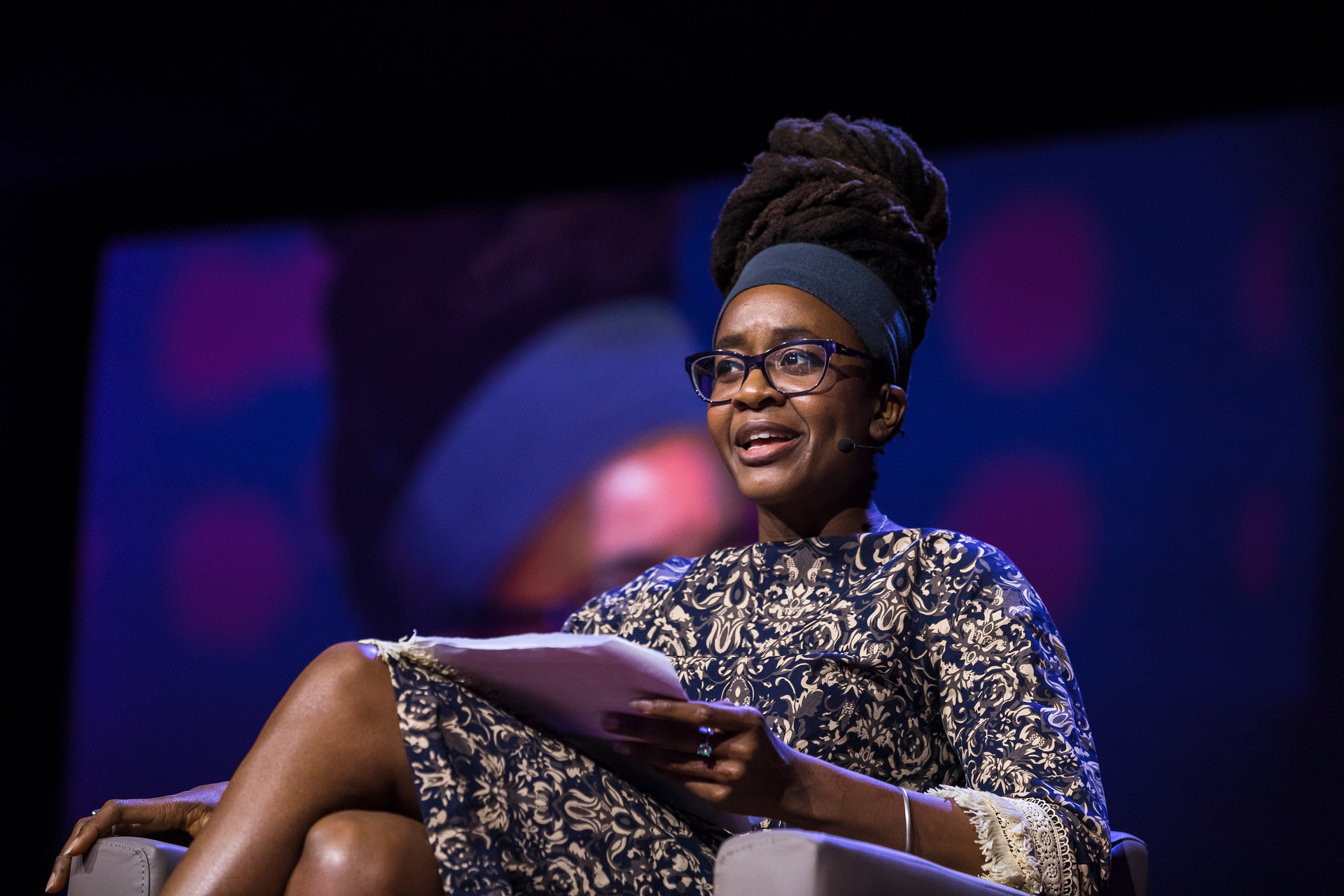 Nnedi Okorafor speaking at TEDGlobal 2017