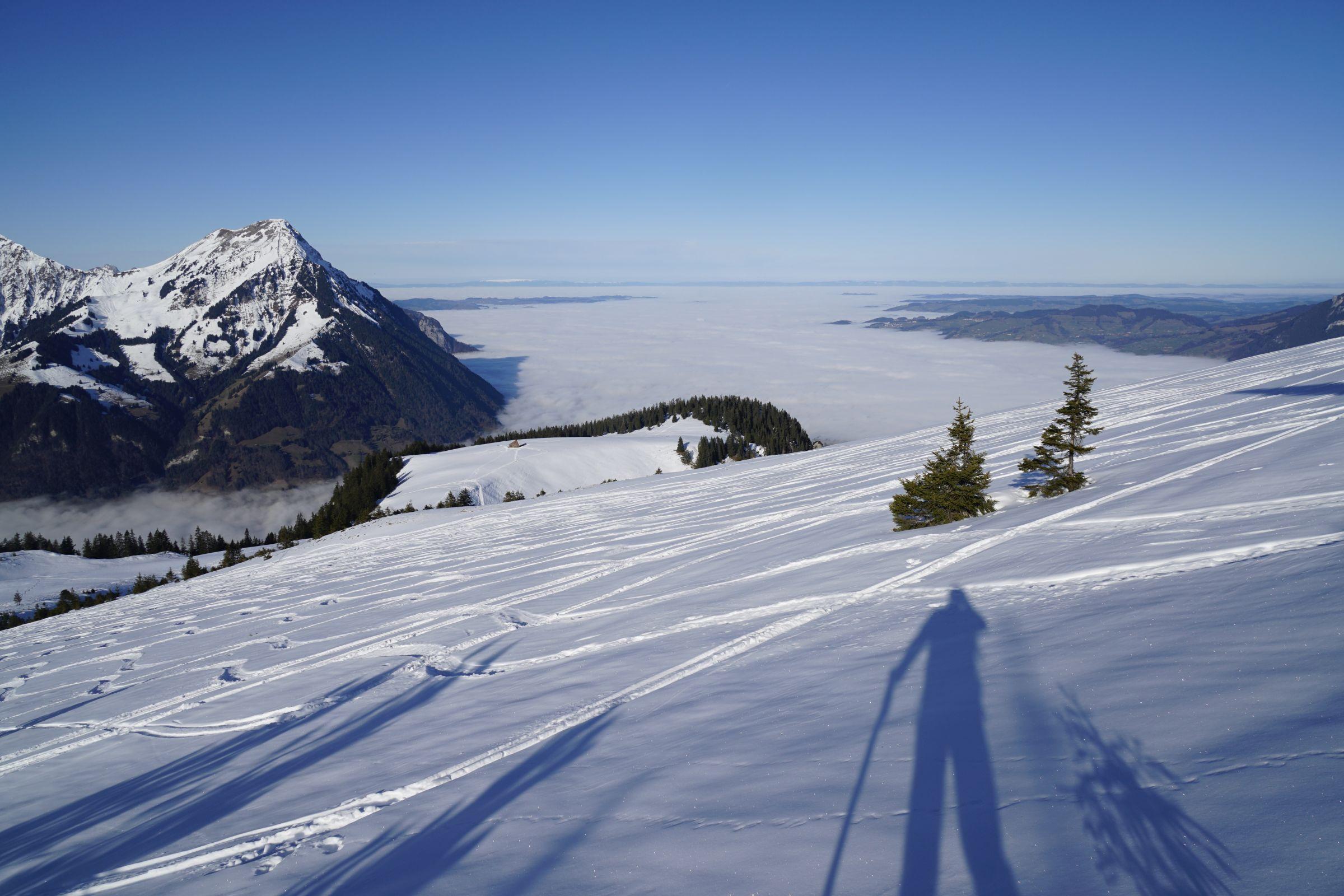 Schneeschuhtour Standflue 02.01.2020