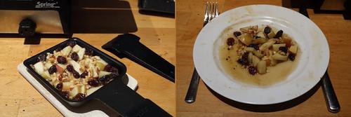 Raclette 11: Bratapfel mit Rum