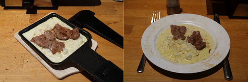 Raclette 13: Lamm in Currysahne