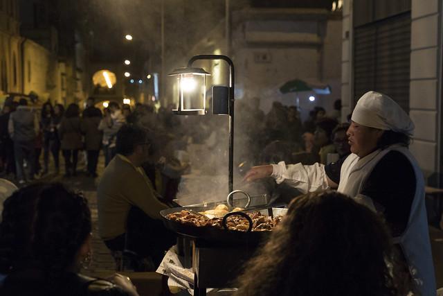 Cena popular. Aniversario de la ciudad de Arequipa.