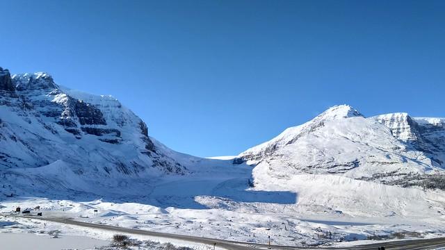 Glacier in Jasper