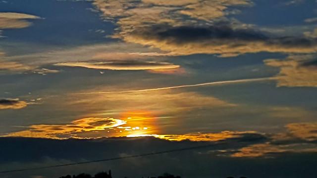 Sunset Iridescent Clouds 14:59:15 GMT 29/12/19