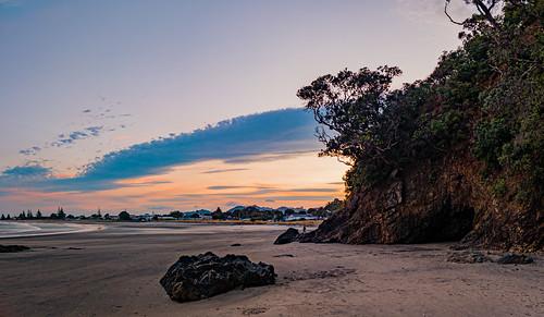 waihibeach newzealand eastcoast bayofplenty beach vacation holiday 2020 landscape oneplus7pro gcam sunset