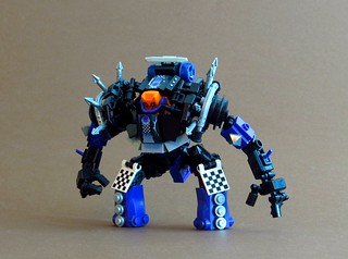 "Spiky's ""racing"" mech 