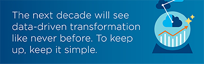 Data-driven transformations