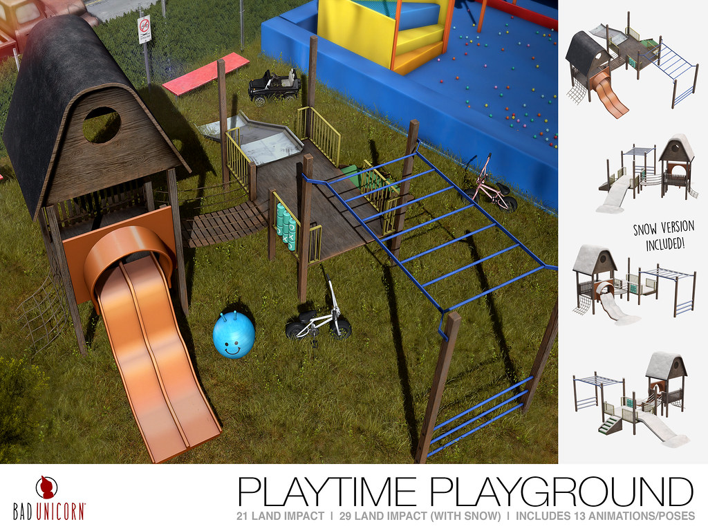 NEW! Playtime Playground @ FaMESHed