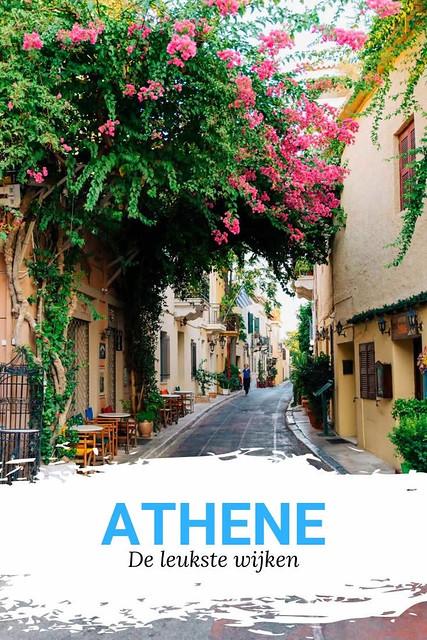Wijken in Athene | Ontdek de leukste kleurrijke wijken in Athene