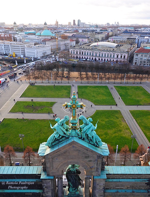 City View from the dome of Berlin Cathedral
