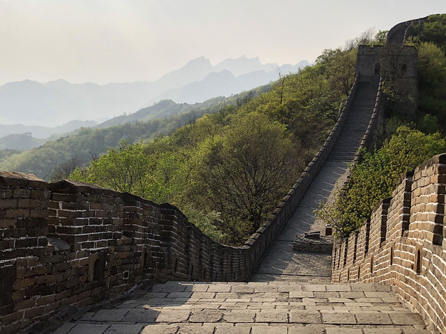 Down the Great Wall of China