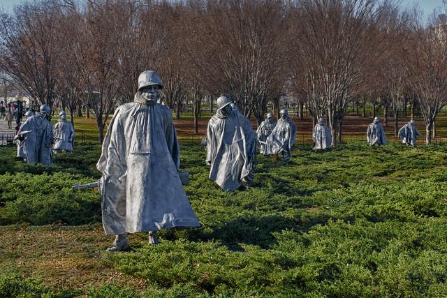Korean War Veterans Memorial DC - Archives