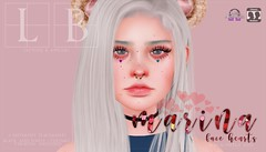 Ladybird. // Marina Face Hearts ♥