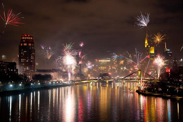Happy New Year, Frankfurt!
