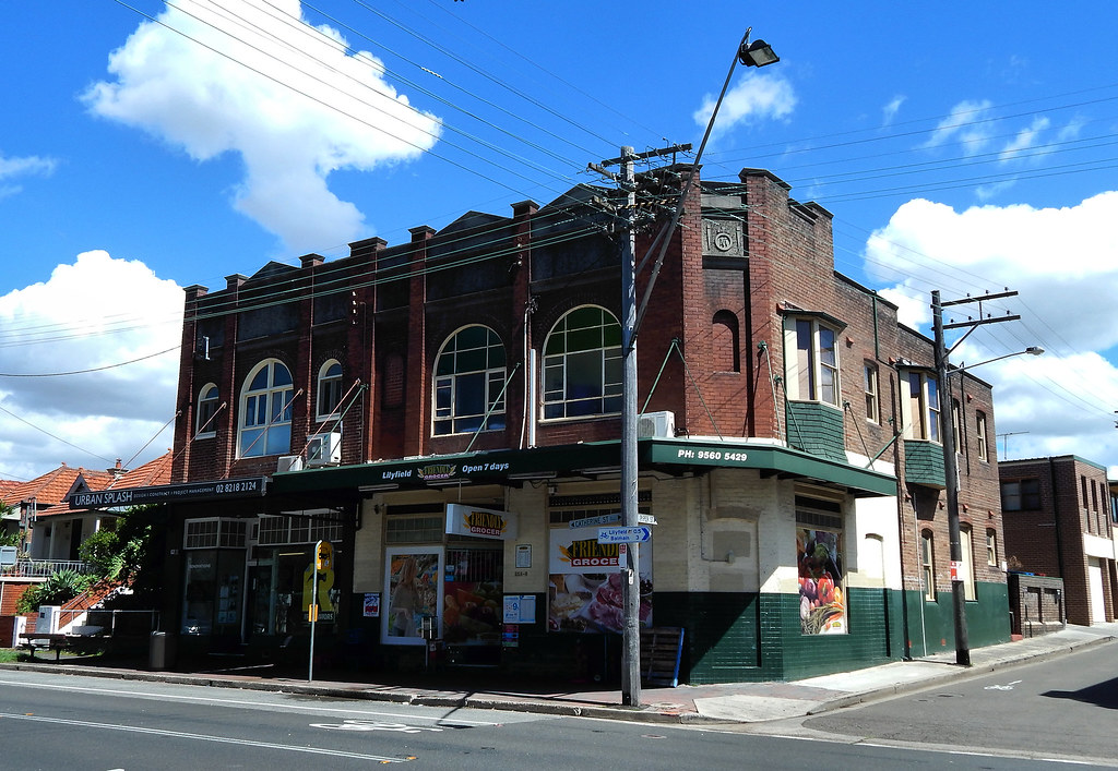 Shops, Liliyfield, Sydney, NSW.