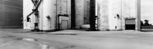 iowalandscape grainelevator bw analog film g617 landscape