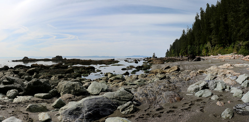 Looking south toward Owen Point as we head to Thrasher Cove