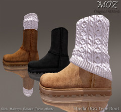"MOZ ""Sheila"" UGG Style Suede Boot"
