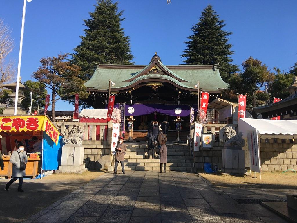 初詣@尾久八幡神社