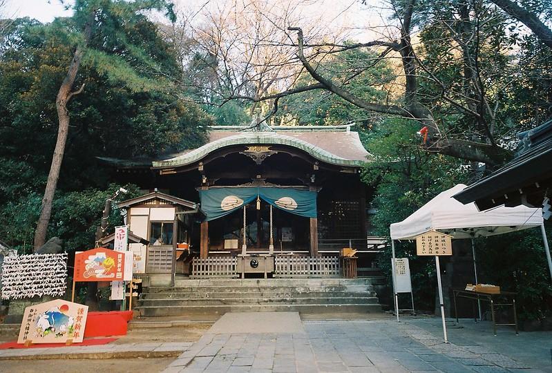 Ricoh GR1s+KodaK Ultramax400偽 東京いい道 しぶい道 三田聖坂 二本榎通り 御田八幡神社