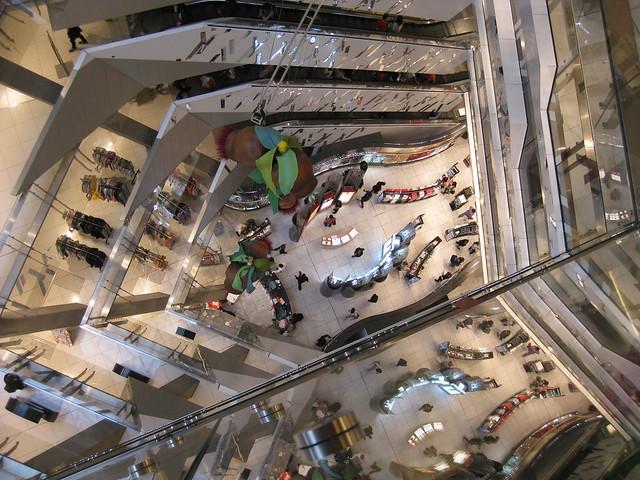 Dizzying Heights of Shopping