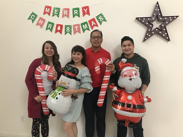 Merry Christmas family photo Dec 25, 2019