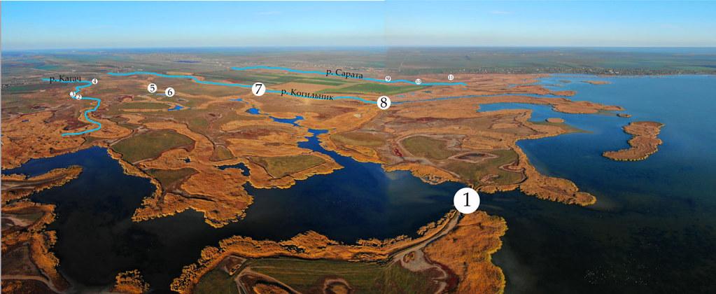 位在烏克蘭多瑙河三角洲的水壩正拆除中。照片來源:WWF募資網頁