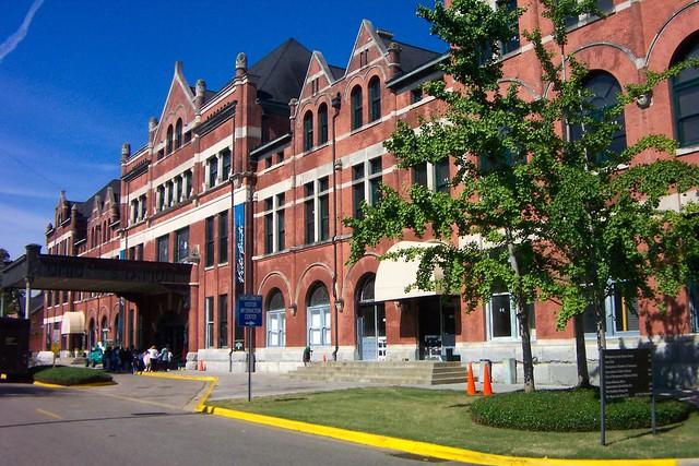 Montgomery Alabama ~ Old Union Station ~ 2003 Photo
