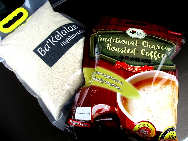 Ba'Kelalan highland rice & Jakar coffee