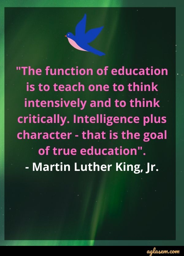 Educational Quote by Martin Luther King, Jr.