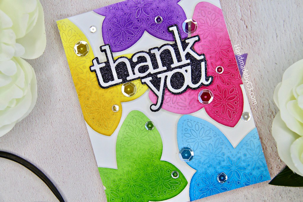 Thank you card #2 closeup