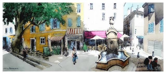 Aix-en-Provence - Provence - France