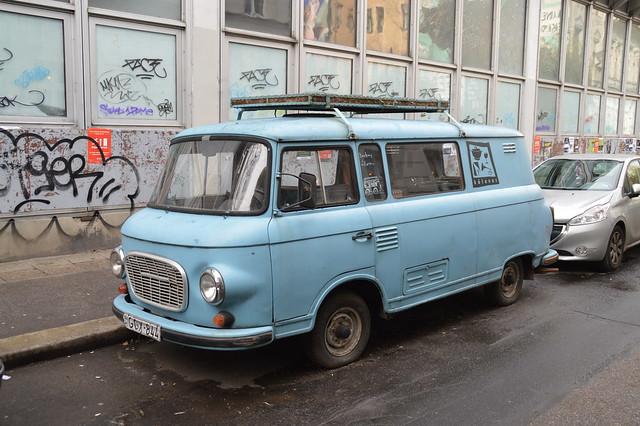 1961-1988 Barkas B 1000 Fourgon vitré GGX-844 (H) - 21 décembre 2019 (Budapest)