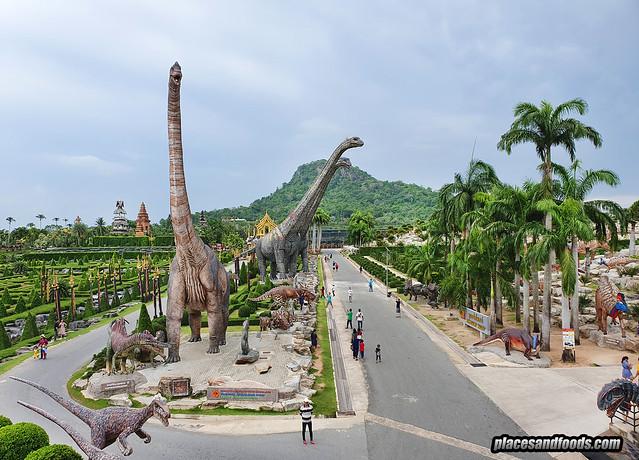 dinosaur park nong nooch