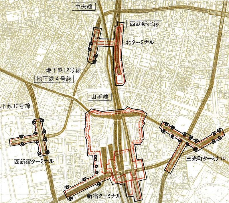 西武新宿駅地下鉄大江戸線直結計画 (3)